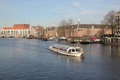 View on the #Amstel with the Hermitage in Amsterdam.