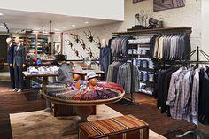 Streets of Georgetown store by Jeffrey Hutchison, Washington, D.C. store design