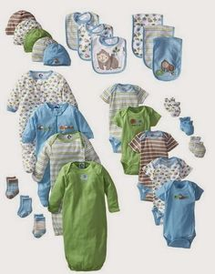 MODA INFANTIL ROPA para niños ropa para niñas ropita bebes: PARA BEBE VARON SET PARA REGALO GERBER