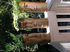 Pot Heads/ Ceramic Sculpture  By LisaLeeSculpture.com