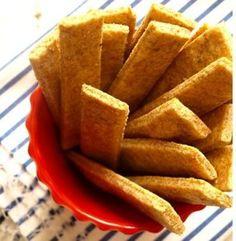 Integralni krekeri sa parmezanom i origanom
