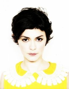 Love Audrey Tautou and I really love her hair!
