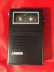 Lanier Professional Micro Cassette Recorder Tested Works Model No MS 105 Japan | eBay