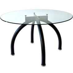"""""""Spyder"""" Dining Table by Ettore Sottsass 