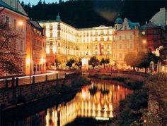 Grand Hotel Pupp in the Czech Republic. I'm pretty sure I need to go NOW.