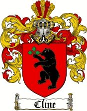 Cline Family Crest / Cline Coat of Arms