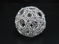 Chainmail Truncated Icosahedron. ©opyright Immortal Designs