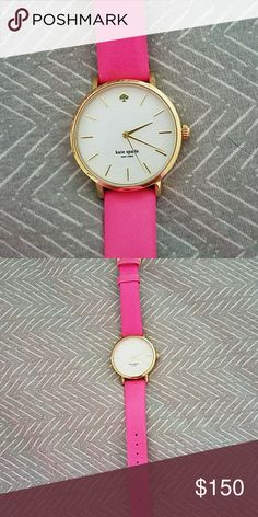 Pink Kate Spade watch Adds a great pop of pink to any outfit! I will put in a brand new watch battery upon purchase. kate spade Accessories Watches