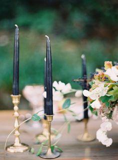 Brass Candle Sticks | A Winter Affair | Styled Shoot | Simply Charming Socials | Atlanta Wedding Planner