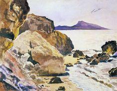 """""""Rodos""""Jacek Malczewski.Watercolor.1884."""