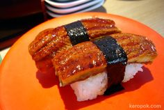 Unagi...MY FAVORITE!! If only I could eat this all the time.