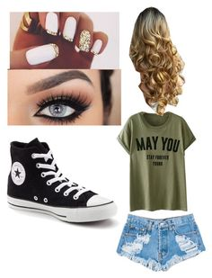 """""""Untitled #96"""" by journeycarothers on Polyvore featuring Levi's and Converse"""