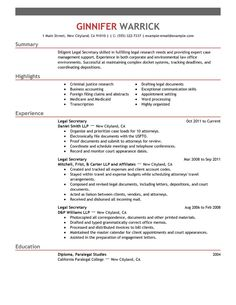 secretary resume templates resume objective for legal secretary position getletter sample resume objective for legal secretary - Inexperienced Resume Examples