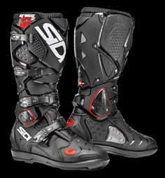 5b7bcd4a2894a SIDI - Crossfire 2 SRS Protection Moto, Équipement Moto, Black Boots,  Crossfire,