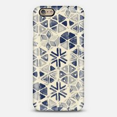 #iPhone6 #cream #navy #indigo #watercolor Phone Case | iPhone 6 | Casetify | Portrait | Graphics | Painting  | Micklyn Le Feuvre