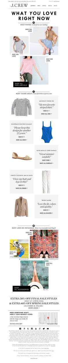 J.Crew - The most-pinned, most-liked, most-talked-about styles (plus, shop our sale, now with 100 new items)