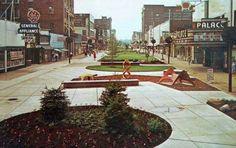 Downtown Danville Illinois; circa 1970