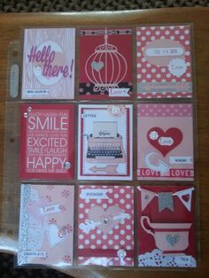 ideas for pocket letters
