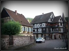Colmar - Alsace Alsace, Cabin, France, Mansions, House Styles, Home Decor, Mansion Houses, Decoration Home, Manor Houses