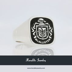 McAllister coat of arms ring