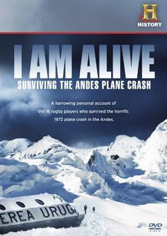 I Am Alive: Surviving the Andes Plane Crash DVD ~WOW!!!!!!!!