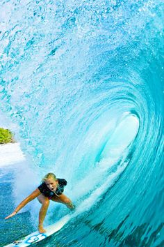 Bethany Hamilton. Not gonna lie, I was pretty obsessed with this girl in late elementary school, but I still do really admire her for her strength and faith.