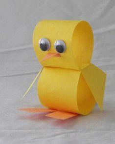 18 Magnifiques bricolages à faire avec les enfants pour Pâques, sous le thème des poussins! - Bricolages - Trucs et Bricolages