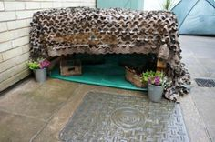 "Safe space shared by Elizabeth Jarman for Families ("",) Eyfs Outdoor Area, Outdoor Play, Outdoor Classroom, Outdoor School, School Plan, School Ideas, Nursery Inspiration, Nursery Ideas, Communication Friendly Spaces"