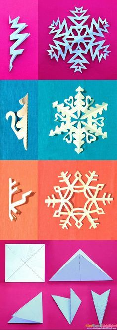 Ideas Diy Paper Crafts Origami Snowflake Pattern For 2019 Kids Crafts, Diy And Crafts, Craft Projects, Arts And Crafts, Easy Crafts, Project Ideas, Craft Ideas, Kids Diy, Decorating Ideas