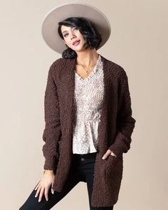 Aspen Popcorn Cardigan | S-3XL - Cents Of Style