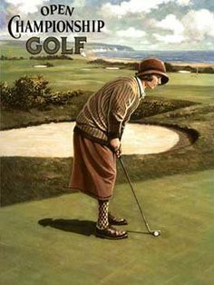 Golf Clubs Vintage The Game Of Golf. Trying to play considerably better golf. golf irons for sale. Girls Golf, Ladies Golf, Theme Sport, Golf Images, Golf Pictures, Golf Art, Best Golf Clubs, Vintage Golf, Retro Mode