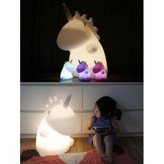 Lampe géante Licorne blanche - Uni the Unicorn - Smoko Inc