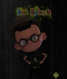 Zoge: Bug Splash Luigi, Digital, Drawings, Blog, Fictional Characters, Art, Art Background, Kunst, Sketches