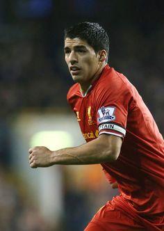 Luis Suarez. Driven and passionate.
