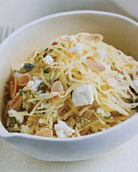 Warm Spaghetti-Squash Salad Recipe