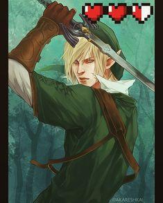 fanart of #LegendofZelda - Link .