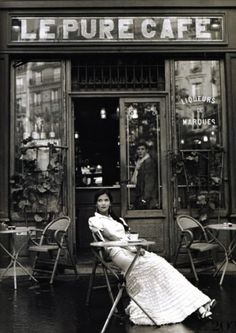 the Paris cafe... universal joy of lingering in the moment (Photo: Rodney Smith)