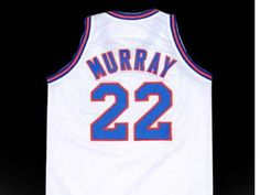 Daffy Duck tune squad space jam movie basketball jersey looney for Adult Standard US Size Small