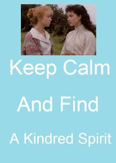 kindred spirit power-love Anne of Green Gables!