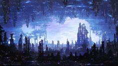 Megacity Concept by Elucidator on deviantART