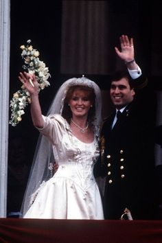 Sarah Duchess of York - Wedding Gown - 1980s Style Princess