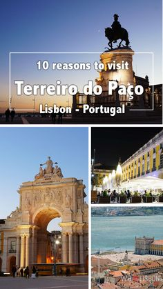 Find our why you need to visit Terreiro do Paço Square in Lisbon - Portugal