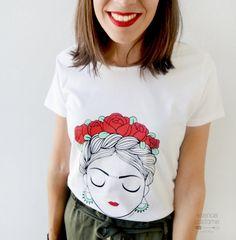 Shirt Print Design, Shirt Designs, Look Fashion, Fashion Outfits, Mexican Shirts, Hand Painted Dress, Paint Shirts, Best Friend Shirts, Pretty Shirts