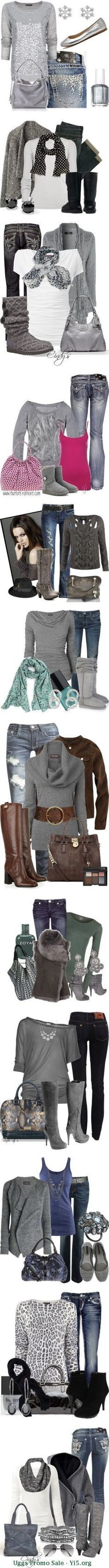 These UGG outfits are so cute and versatile!