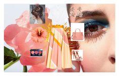 """Summer peach"" by luisa6 on Polyvore featuring moda, T By Alexander Wang, Roksanda, Fendi, Oscar de la Renta y Vapour Organic Beauty"