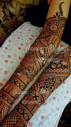 Photo By Jasmine Mehendi - Mehendi Artist Indian Mehndi Designs, Latest Bridal Mehndi Designs, Full Hand Mehndi Designs, Mehndi Designs 2018, Modern Mehndi Designs, Mehndi Design Pictures, Mehndi Designs For Girls, Wedding Mehndi Designs, Beautiful Henna Designs