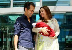 Guilhermina Guinle deixa maternidade com a filha   y_entretenimento - Yahoo! OMG! Brasil