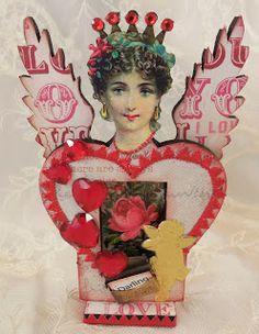 Trash to Treasure Art: Valentine Sweetheart Faries