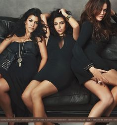 With the recent launch of the Kardashian Kollection at the US department store, Sears, Kim, Khloe and Kourtney have been hard at work promoting their new clothing line. Description from lovesceneonline.com. I searched for this on bing.com/images