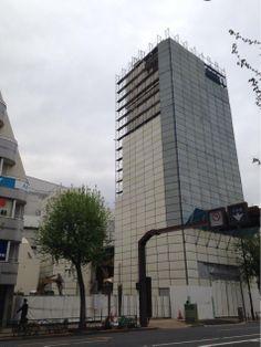 中央線沿線と荻窪が好きな人はよく知ってる「新星堂」旧本社ビルの解体がはじまりました。このビル、井伏鱒二著「荻窪風土記」にもでてきました。